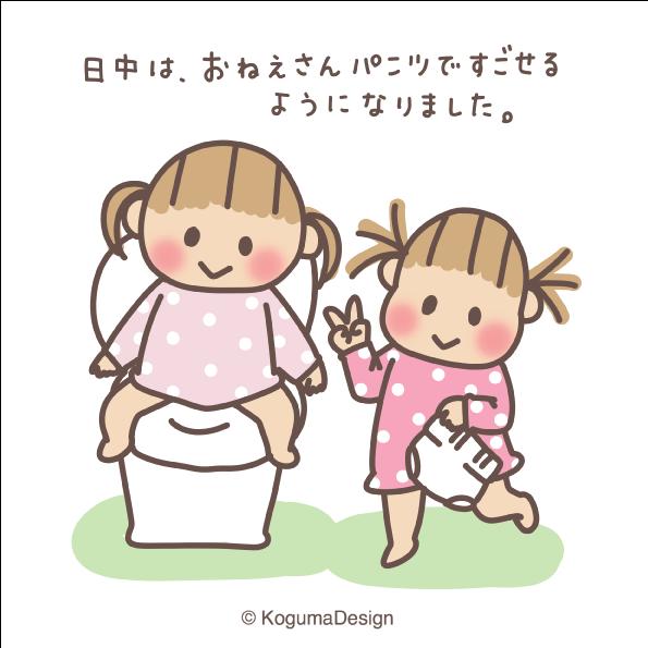 トイトレ続編 トイレトレーニング おねえさんパンツ