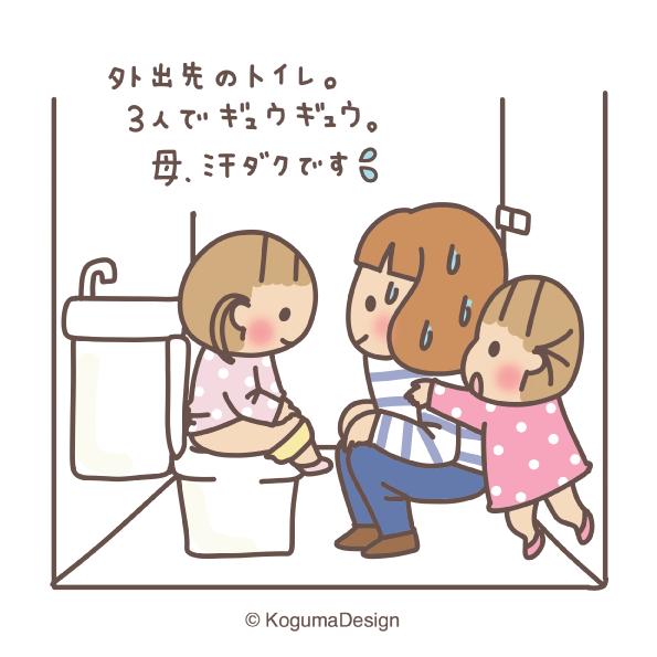 外出先のトイレ