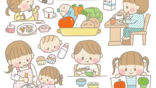 オリジナルイラスト 食育 子供イラスト 挿絵 イラスト 素材